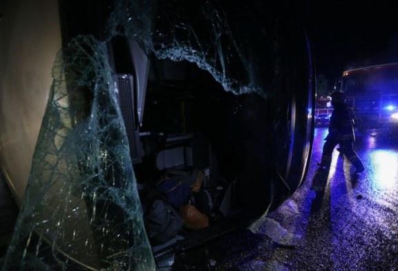 Acidente/Nisa: Motorista do autocarro ainda internado no hospital de Portalegre
